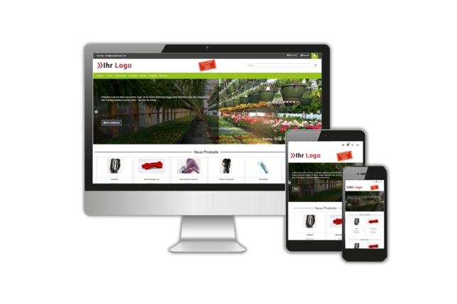 DR-WebShop Theme: Greenery