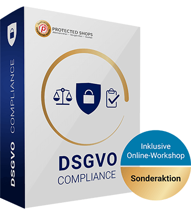 DSGVO compliance Paket inklusive Online-Workshop