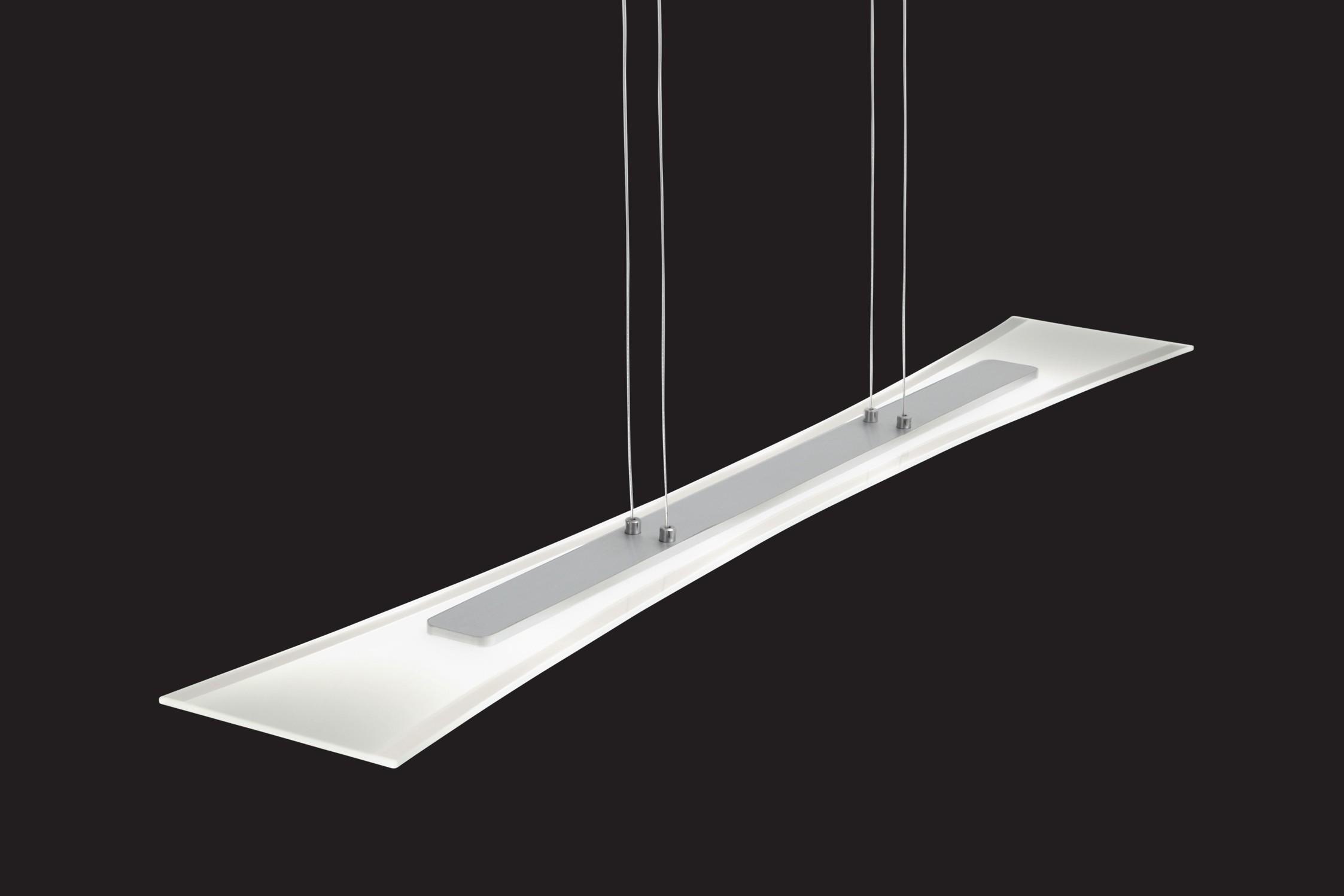 322510406 led pendelleuchte 4 flammig aluminium geb rstet 099000 trio ebay. Black Bedroom Furniture Sets. Home Design Ideas